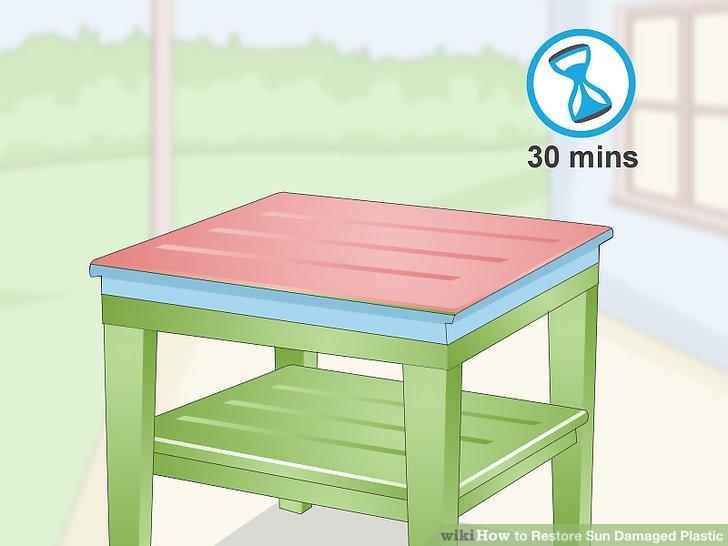 Lassen Sie die Farbe 30 Minuten trocknen.