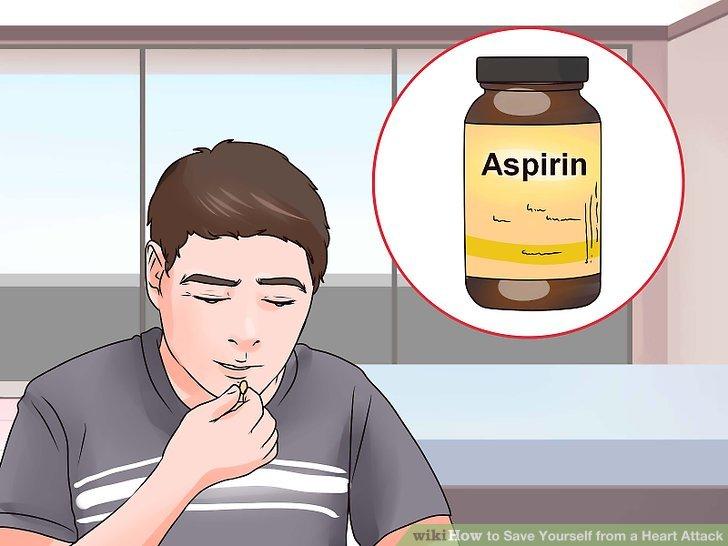 Kauen Sie ein Aspirin.