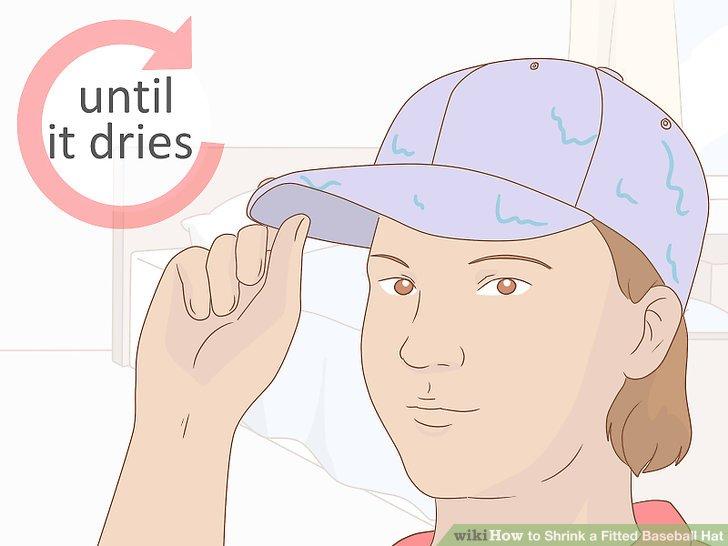 Wear the cap as it dries.