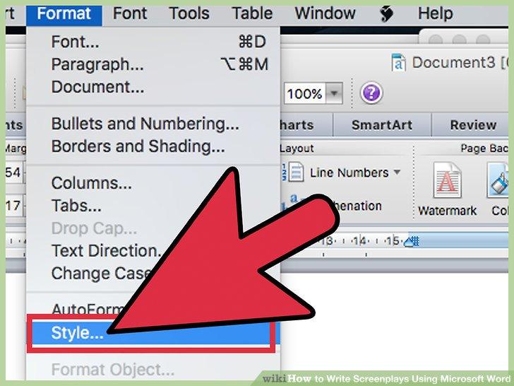 How To? - How to Write Screenplays Using Microsoft Word
