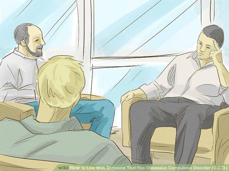 Bitten Sie darum, dass Ihre Liebsten das OCD-Verhalten auf bestimmte Bereiche des Hauses beschränken.