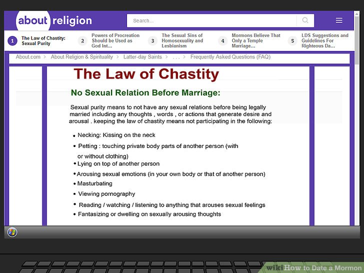 """Understand the """"law of chastity."""