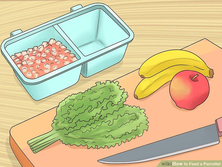 Sorgen Sie für reichlich Obst und Gemüse.