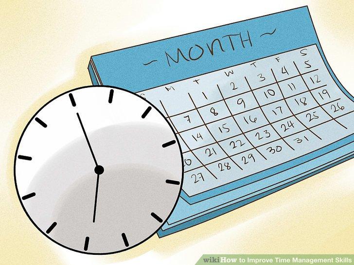 Nutzen Sie einen Kalender.
