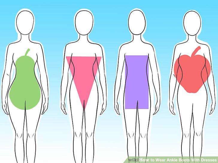 Wählen Sie Stiefel, die Ihrer Körperform schmeicheln.