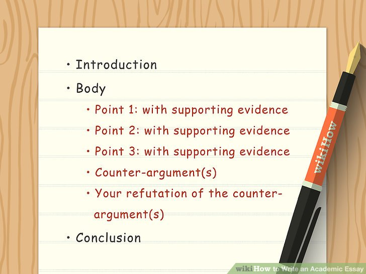 5 Clear And Easy Ways To Write An Academic Essay WikiHow