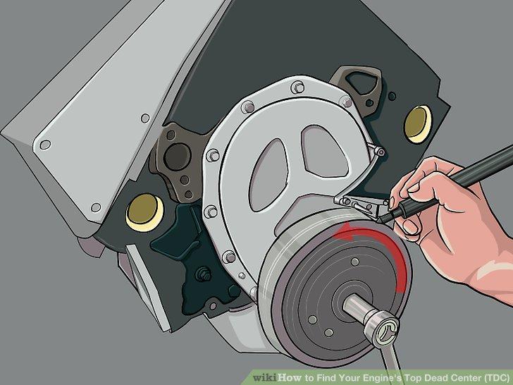 mercruiser wiring diagram 5 7 esp ltd ec 50 3 ways to find your engine's top dead center (tdc) - wikihow