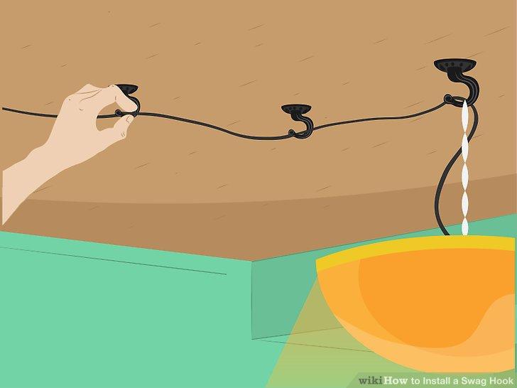 Wenn die Last zufrieden ist, kann sie sicher gehalten werden. Schließen Sie eine beliebige Kette / Netzkabel über zusätzliche Kabelbinder an.