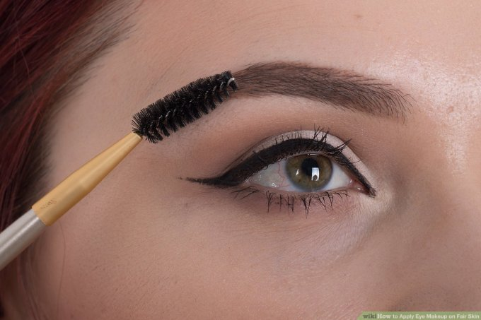 how to apply eye makeup on fair skin: 9 steps (with pictures)