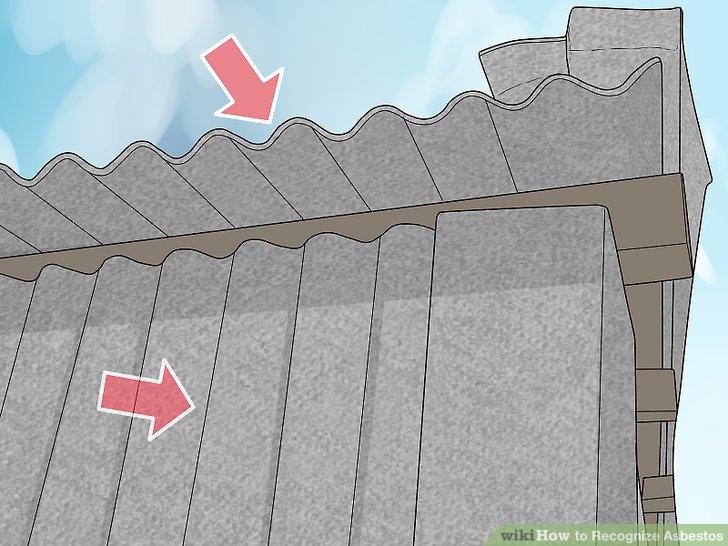 Inspect exterior building materials.