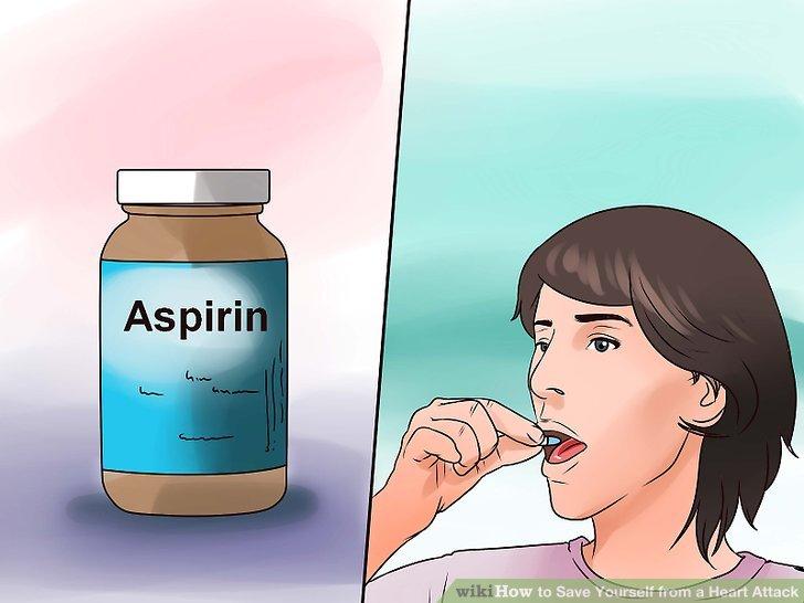 Nehmen Sie täglich ein Aspirin.