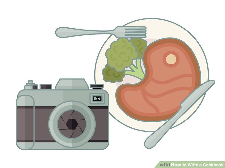 Fotografiere das Essen.