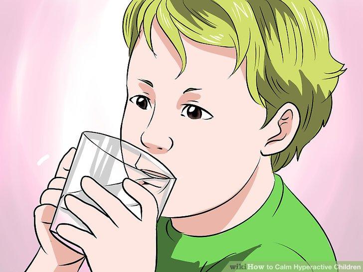 Halten Sie Ihr Kind mit Flüssigkeit versorgt.