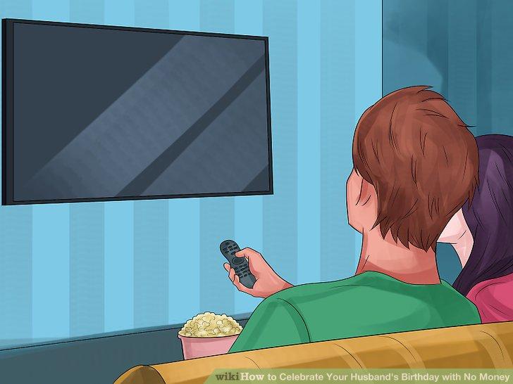 Zeigen Sie einen der Lieblingsfilme Ihres Mannes.