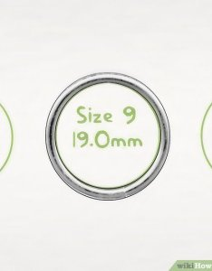 Image titled find your ring size step also ways to wikihow rh