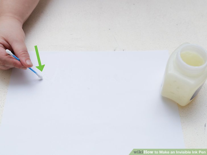 How To How To Make An Invisible Ink Pen