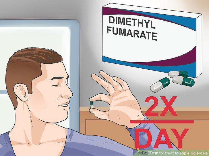 Use dimethyl fumarate.