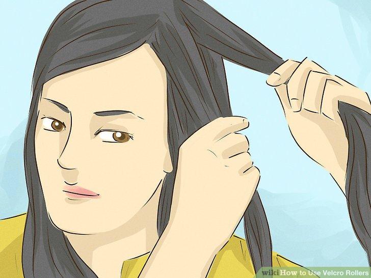 Abschnitt dickeres Haar