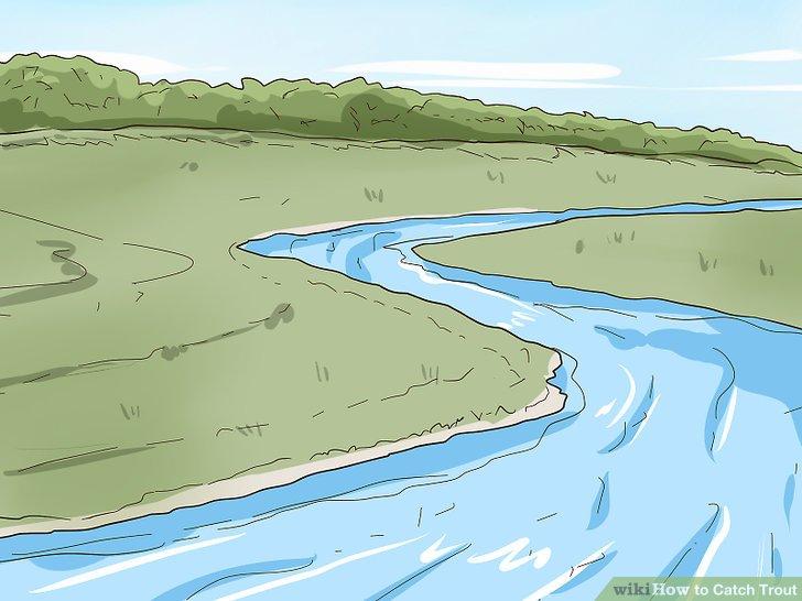 Finden Sie einen Fluss oder See mit kaltem und sauberem Wasser.