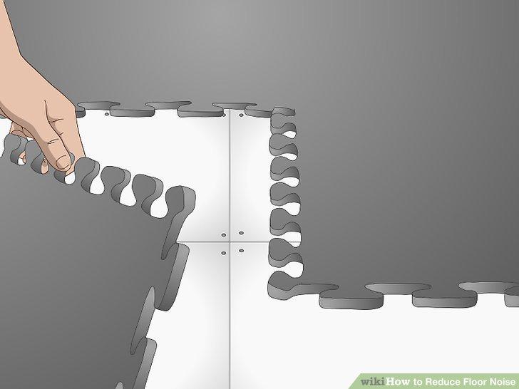 Fügen Sie ineinandergreifende Böden hinzu, um das Geräusch zu reduzieren.