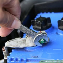 Car Battery Wiring Diagram For Heating And Cooling Thermostat 3 Ways To Remove Terminals Wikihow Image Titled Step 4