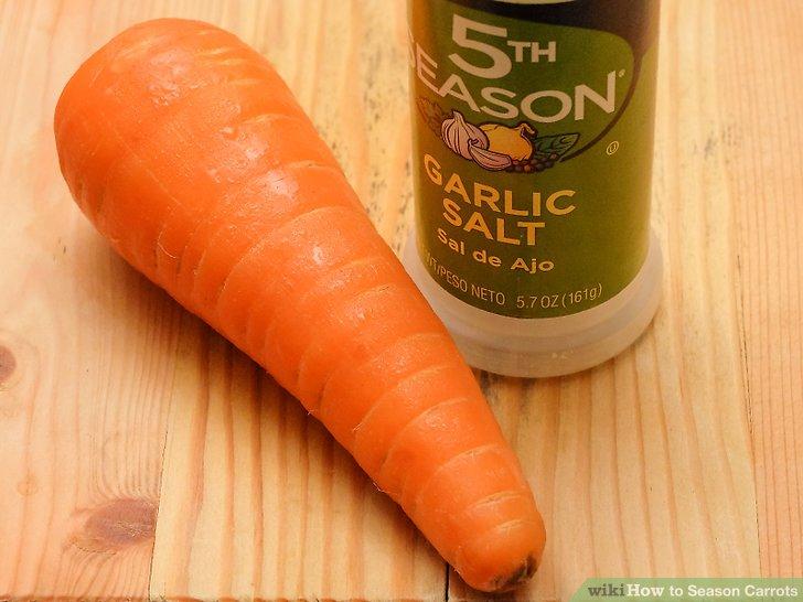 Wählen Sie Gewürze, die traditionell mit Karotten verwendet werden.