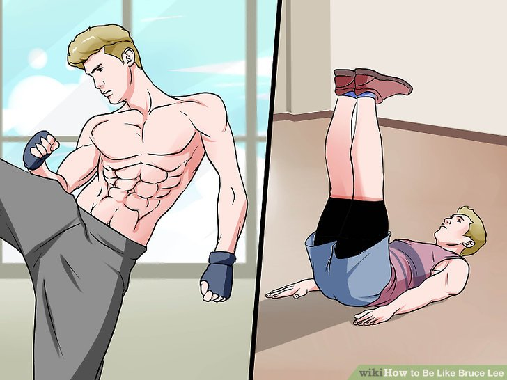Widme dich der Fitness.