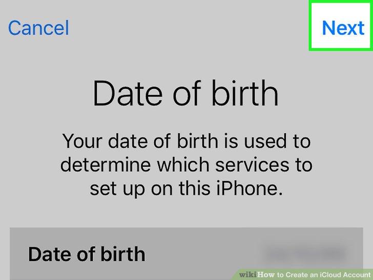 Geben Sie Ihr Geburtsdatum ein.