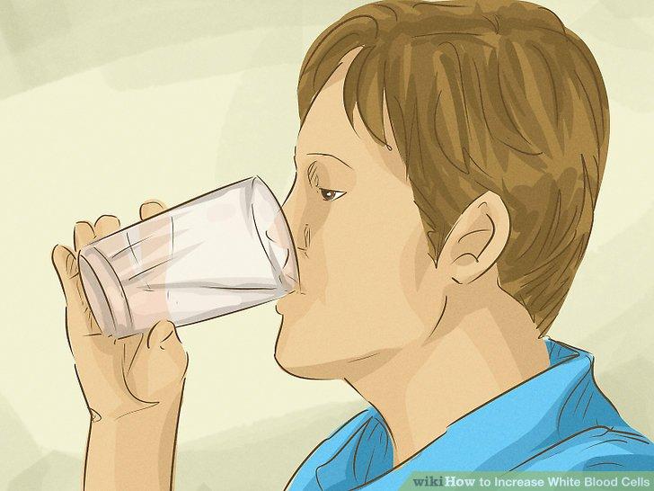 Trinke mehr Wasser.