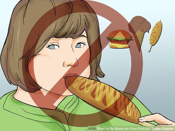 Essen Sie nicht vorher.