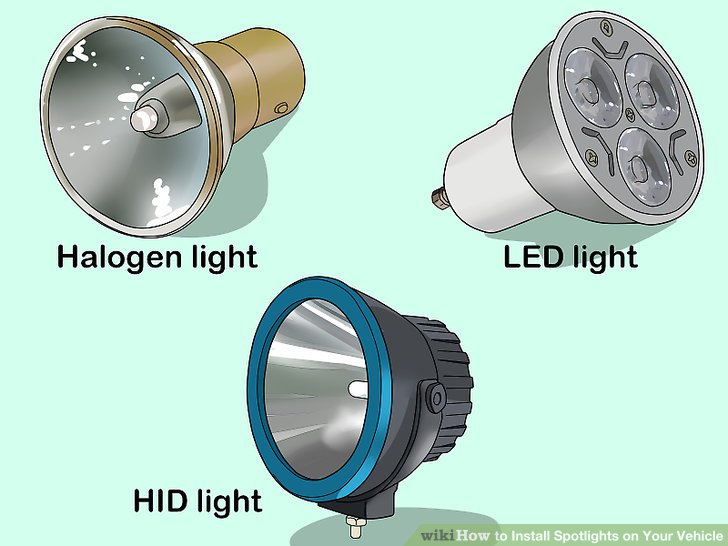 halogen work light wiring diagram eric johnson strat how to install spotlights on your vehicle 15 steps image titled step 3