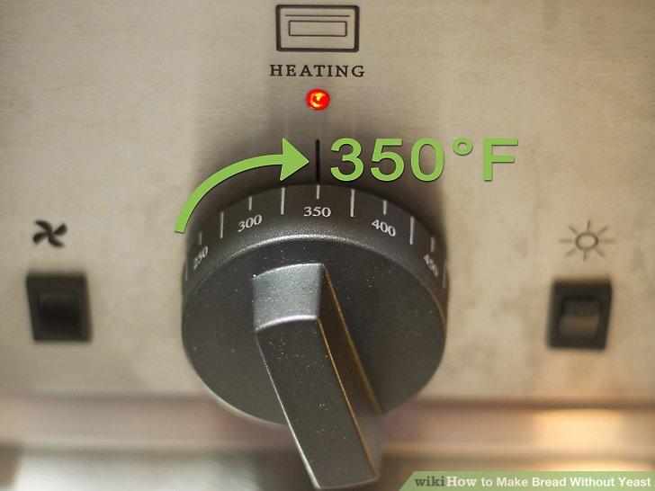 Wärmen Sie den Ofen auf 350 Grad Celsius vor.