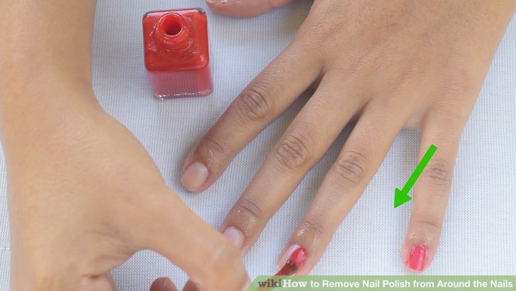 Image Led Remove Nail Polish From Around The Nails Step 14
