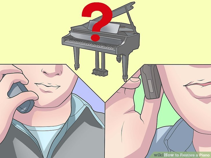Call on an expert to find out what your piano is worth.