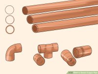 How to Sweat Copper Pipe (with Pictures) - wikiHow