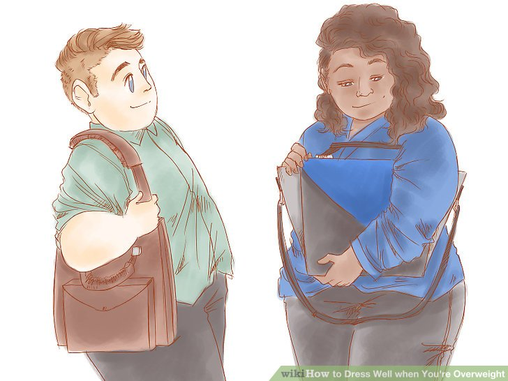 Image titled Dress Well when You're Overweight Step 5Bullet2