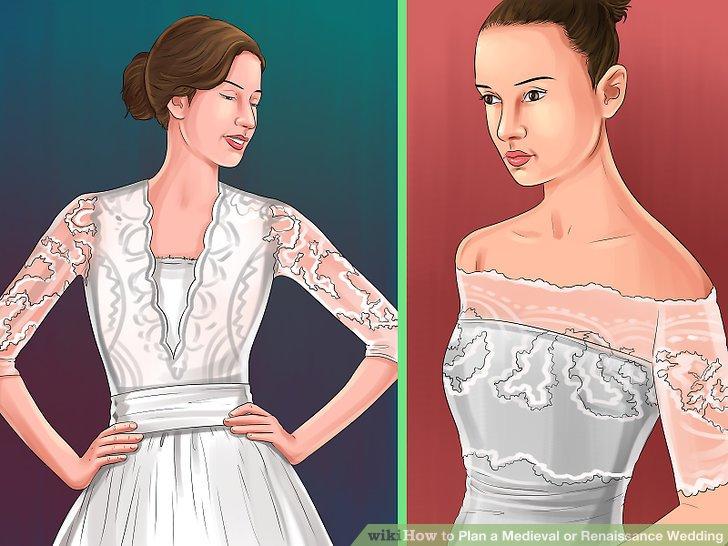 Wähle ein Brautkleid aus.