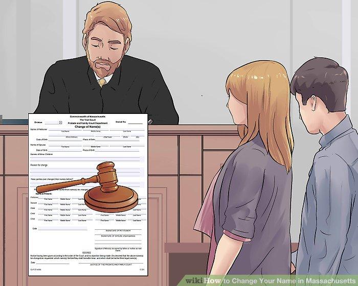 Erscheinen vor Gericht.