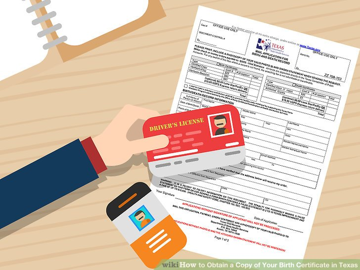 How To How To Obtain A Copy Of Your Birth Certificate In Texas
