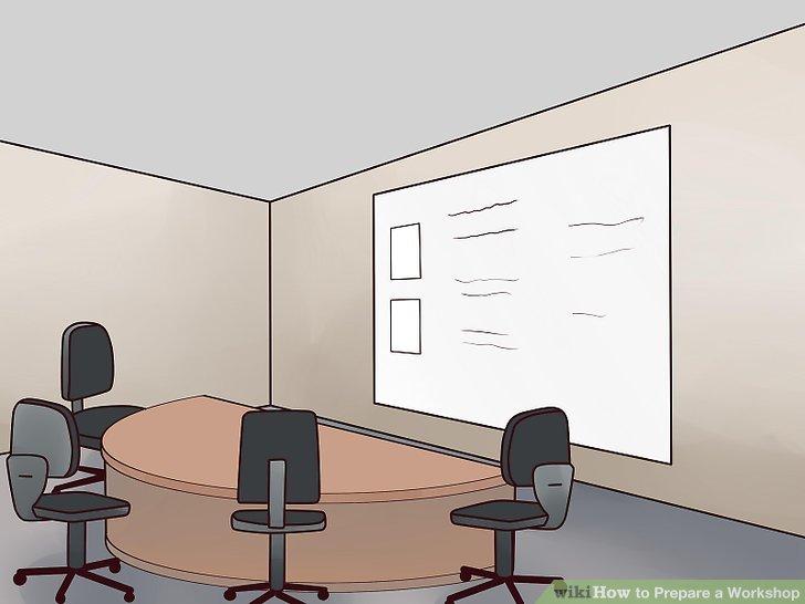 Richten Sie den Raum oder Raum ein, um zur Diskussion anzuregen.
