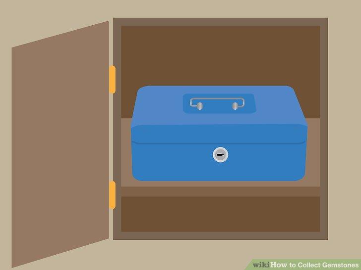 Have a safe storage place.