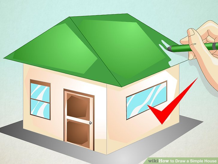 simple house diagram 13 pin trailer socket wiring uk 20 images diagrams aid330211 v4 728px draw a step 16 version 3 ways to