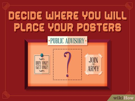 advertising posters