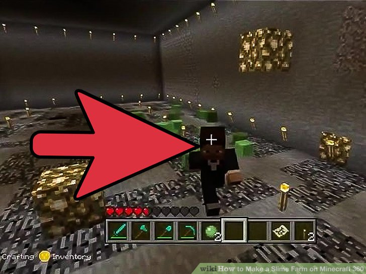 How to make a slime farm in minecraft xbox 360 edition howsto how to make a slime farm on minecraft 360 with pictures ccuart Choice Image