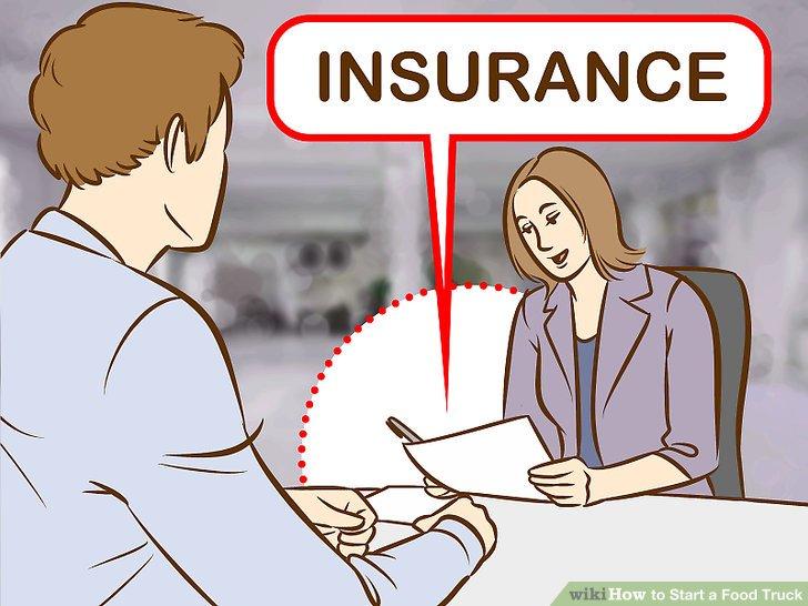 Beantragen Sie eine Versicherung.