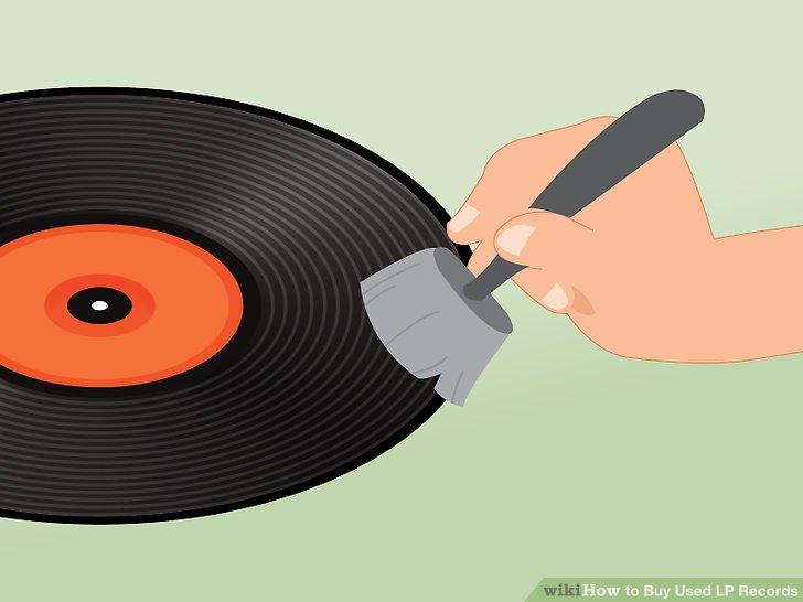 Vermeiden Sie sehr staubige Schallplatten, es sei denn, Sie haben eine zuverlässige Methode zum Reinigen.