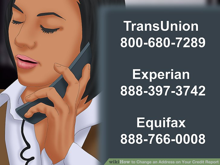 Begin by contacting any one of the three major credit reporting companies.
