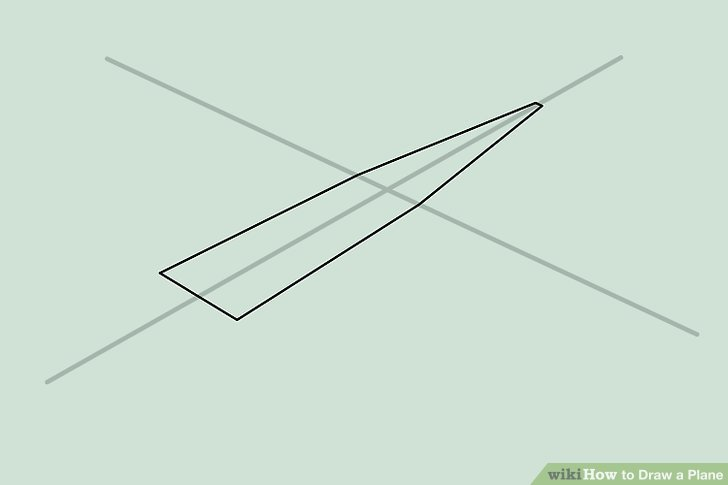 cessna 406 diagram 3d brain 4 ways to draw a plane wikihow image titled an airplane step 10