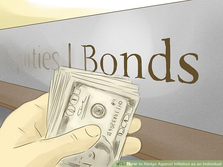 Choose stocks and bonds.