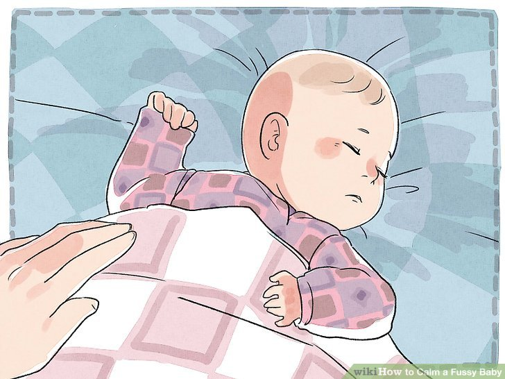 Stellen Sie sicher, dass Ihr Baby nicht einfach müde ist.